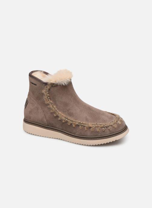 Boots en enkellaarsjes Geox J Thymar Girl J944FF Grijs detail