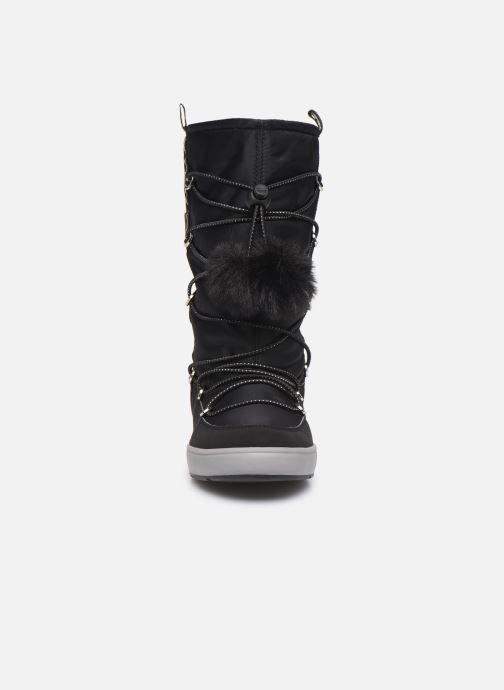 Chaussures de sport Geox J Sleigh Girl B ABX J949SB Noir vue portées chaussures