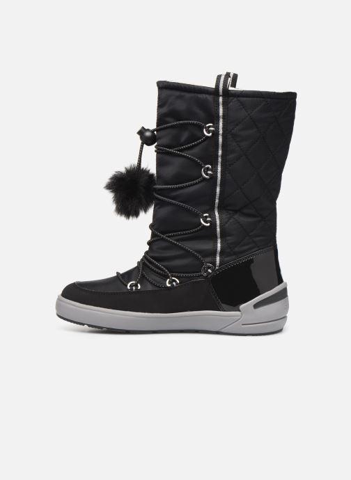 Chaussures de sport Geox J Sleigh Girl B ABX J949SB Noir vue face