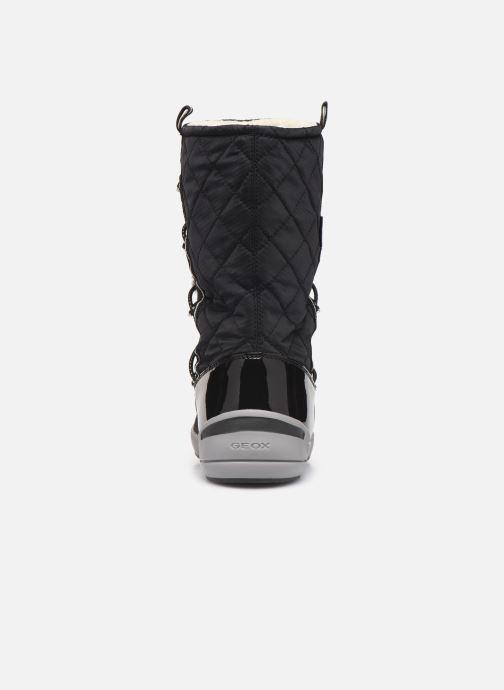 Chaussures de sport Geox J Sleigh Girl B ABX J949SB Noir vue droite