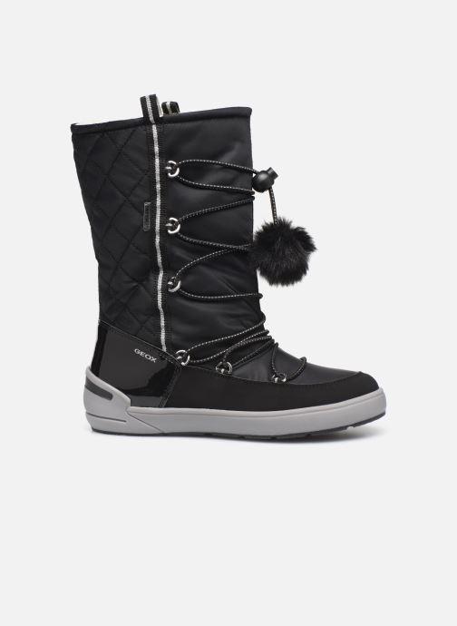 Chaussures de sport Geox J Sleigh Girl B ABX J949SB Noir vue derrière