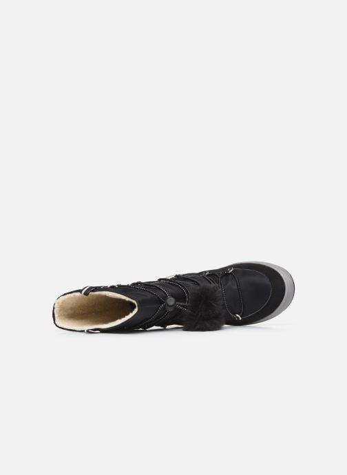 Chaussures de sport Geox J Sleigh Girl B ABX J949SB Noir vue gauche