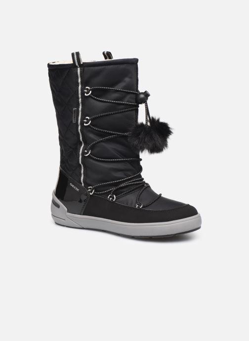 Chaussures de sport Geox J Sleigh Girl B ABX J949SB Noir vue détail/paire