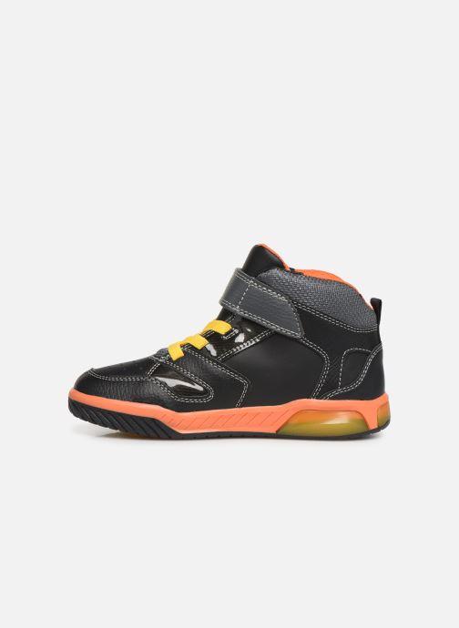 Sneakers Geox J Inek Boy J949CC Nero immagine frontale