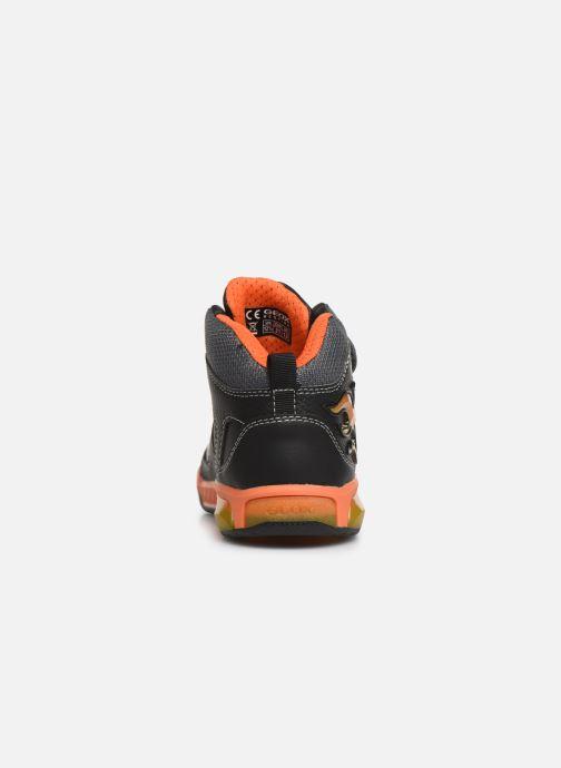 Sneakers Geox J Inek Boy J949CC Sort Se fra højre