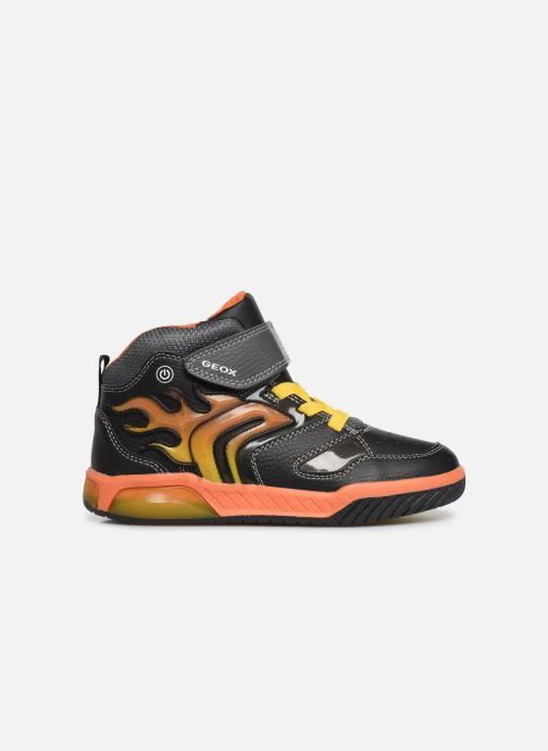 Sneakers Geox J Inek Boy J949CC Zwart achterkant