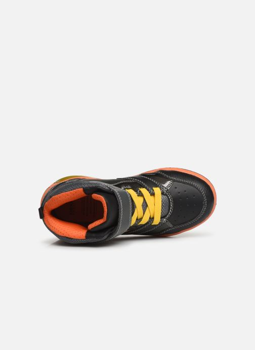 Sneakers Geox J Inek Boy J949CC Sort se fra venstre