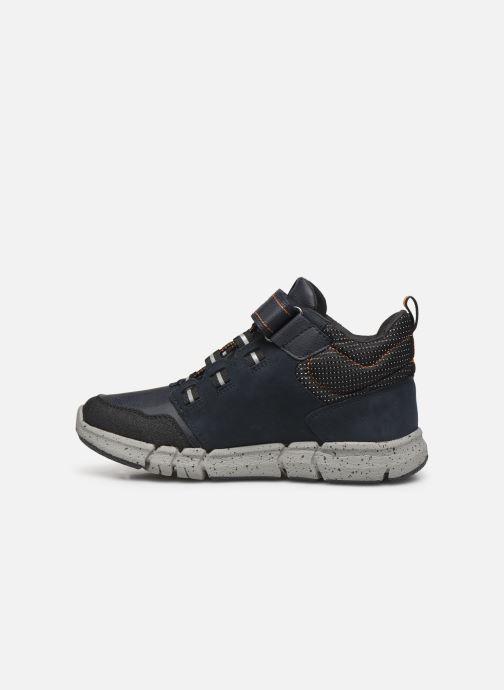 Sneaker Geox J Flexyper Boy B Abx J949XA blau ansicht von vorne