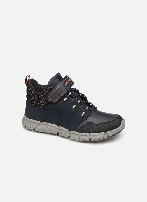 Sneakers Geox J Flexyper Boy B Abx J949XA Blå detaljeret billede af skoene