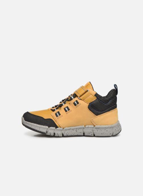 Sneakers Geox J Flexyper Boy B Abx J949XA Geel voorkant