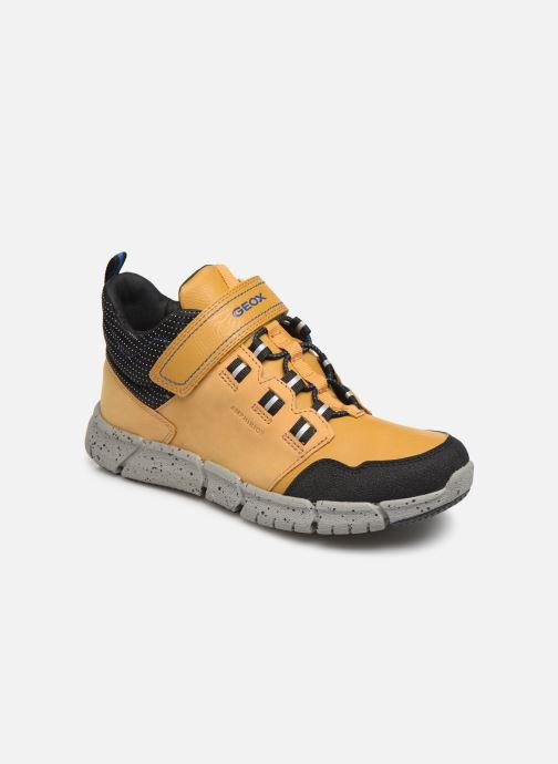 Sneakers Geox J Flexyper Boy B Abx J949XA Geel detail