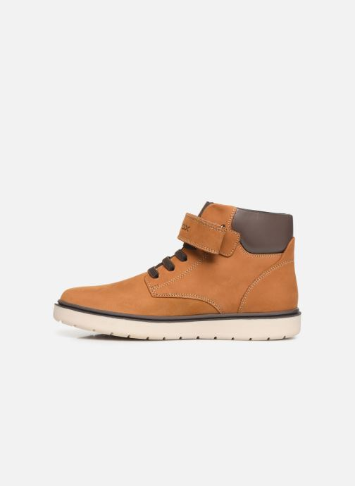 Boots en enkellaarsjes Geox J Riddock Boy WPF J847TA Geel voorkant
