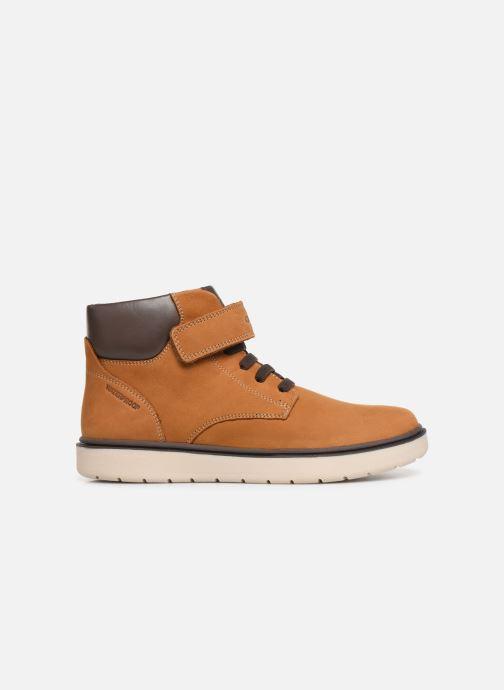 Boots en enkellaarsjes Geox J Riddock Boy WPF J847TA Geel achterkant