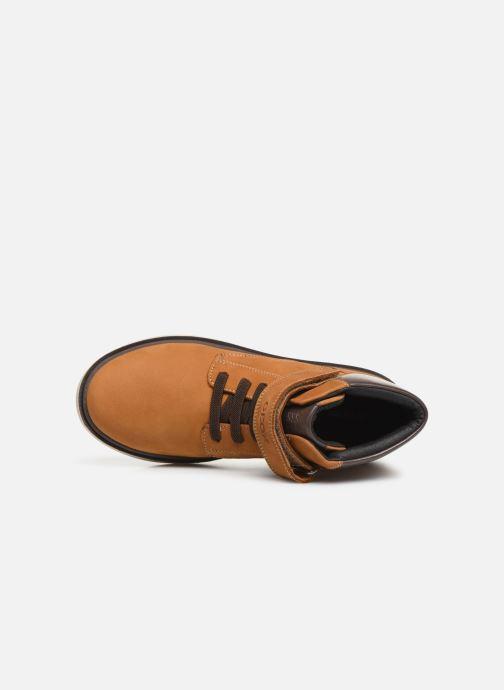 Boots en enkellaarsjes Geox J Riddock Boy WPF J847TA Geel links