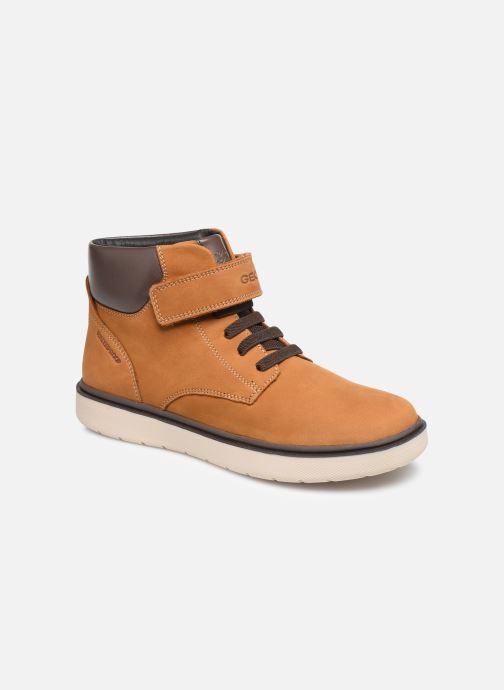 Bottines et boots Geox J Riddock Boy WPF J847TA Jaune vue détail/paire