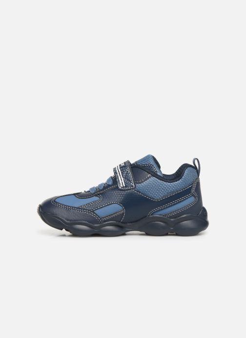 Sneakers Geox JR Munfrey Boy J944BA Azzurro immagine frontale