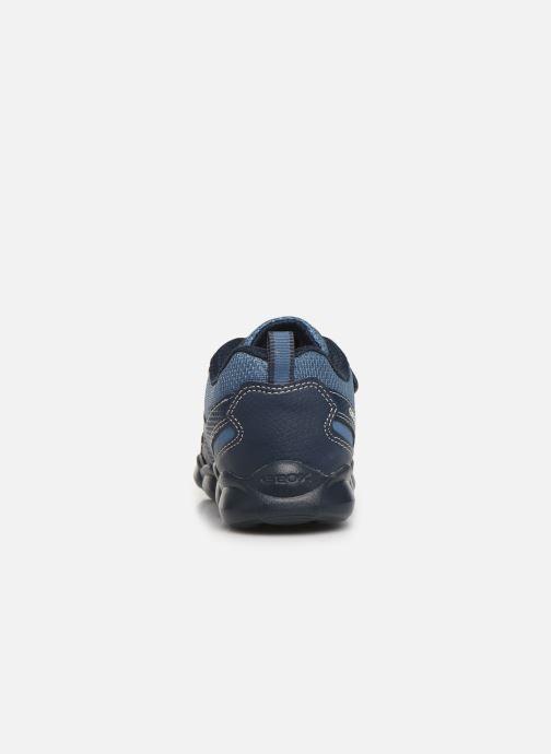Sneakers Geox JR Munfrey Boy J944BA Azzurro immagine destra