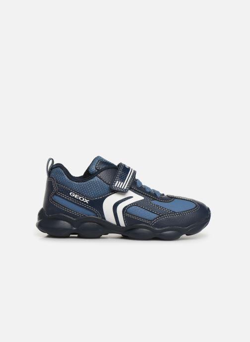 Sneakers Geox JR Munfrey Boy J944BA Azzurro immagine posteriore