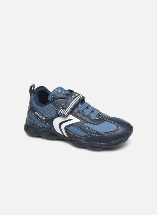 Trainers Geox JR Munfrey Boy J944BA Blue detailed view/ Pair view