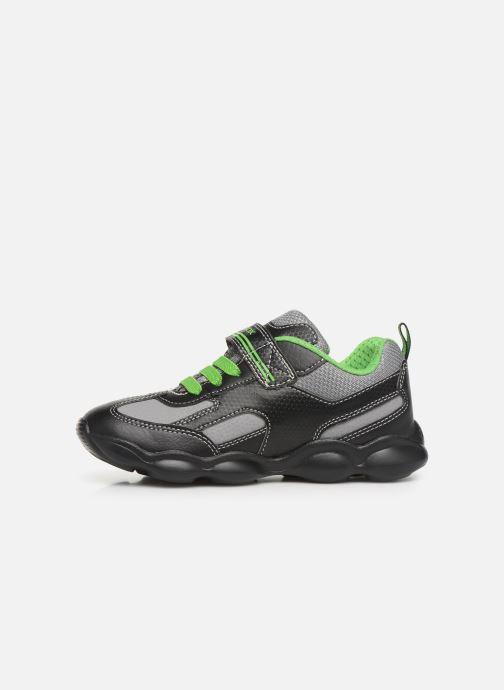 Sneakers Geox JR Munfrey Boy J944BA Zwart voorkant