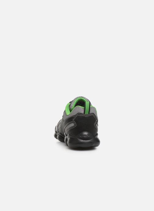 Sneakers Geox JR Munfrey Boy J944BA Nero immagine destra