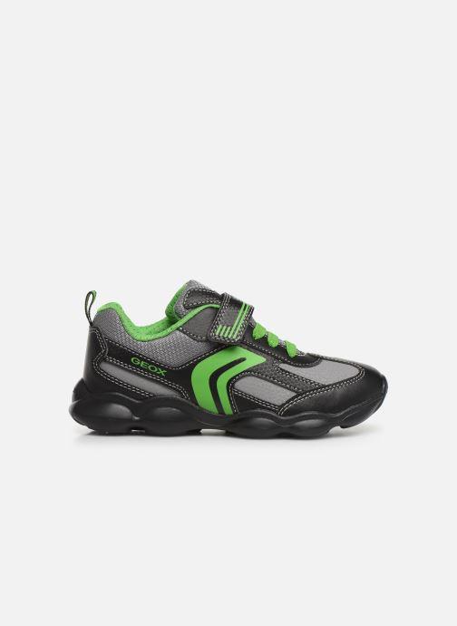 Sneakers Geox JR Munfrey Boy J944BA Zwart achterkant