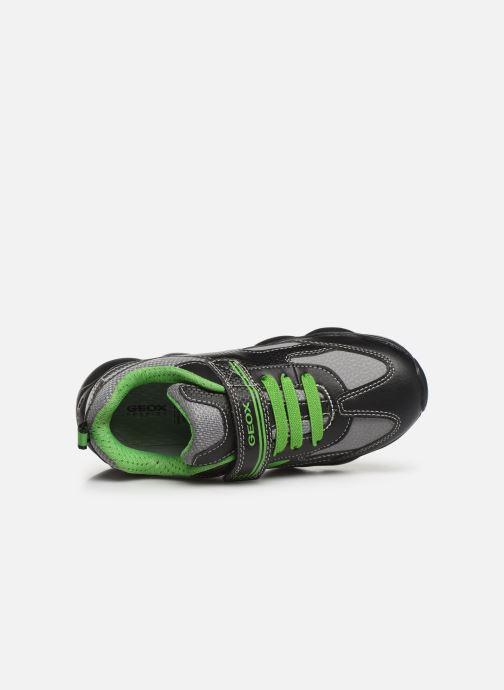 Sneakers Geox JR Munfrey Boy J944BA Zwart links