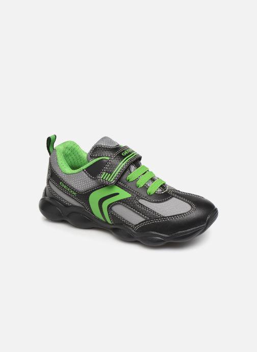 Sneakers Geox JR Munfrey Boy J944BA Zwart detail
