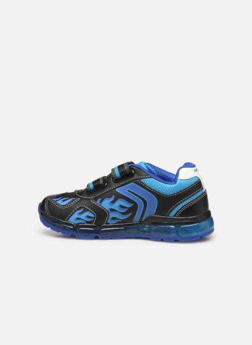 Sneaker Geox J Android Boy J9444C blau ansicht von vorne
