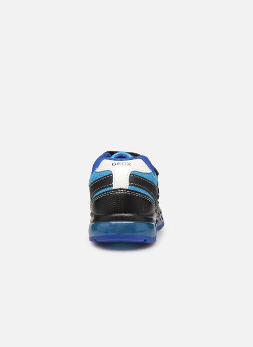 Baskets Geox J Android Boy J9444C Bleu vue droite
