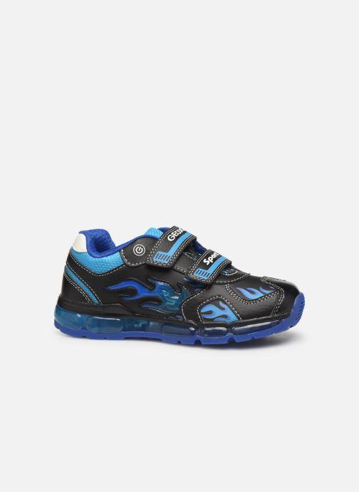 Sneaker Geox J Android Boy J9444C blau ansicht von hinten