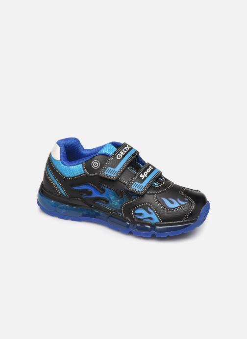 Sneaker Geox J Android Boy J9444C blau detaillierte ansicht/modell