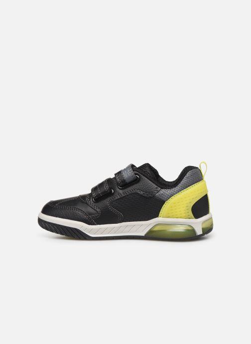 Sneakers Geox J Inek Boy J949CD Zwart voorkant