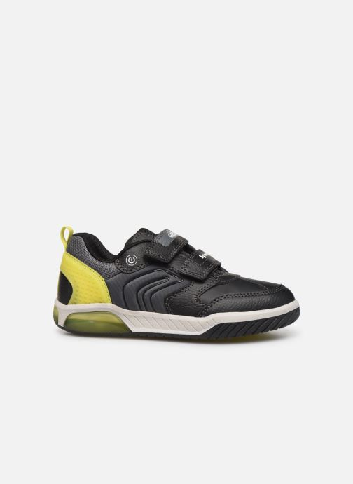 Sneakers Geox J Inek Boy J949CD Zwart achterkant
