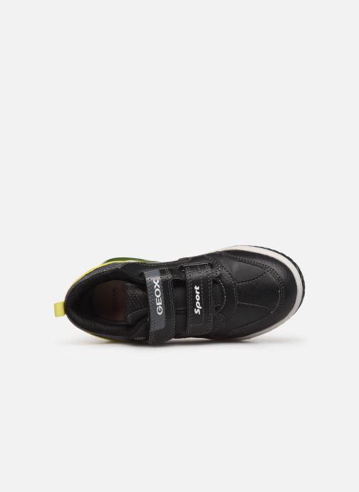 Sneakers Geox J Inek Boy J949CD Zwart links