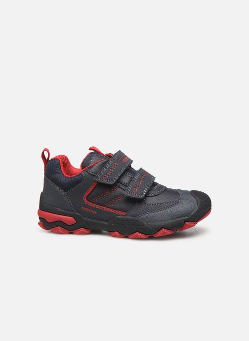 Sneakers Geox J Buller Boy J949VD Blauw achterkant