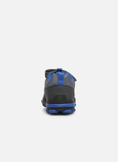 Baskets Geox J Buller Boy J949VD Gris vue droite