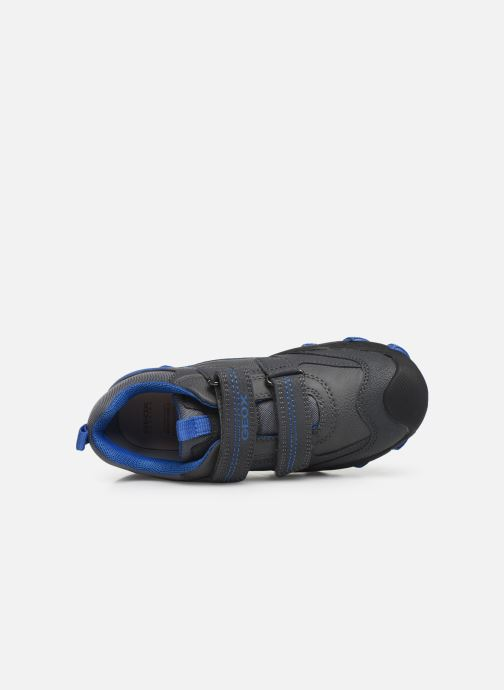 Sneakers Geox J Buller Boy J949VD Grijs links