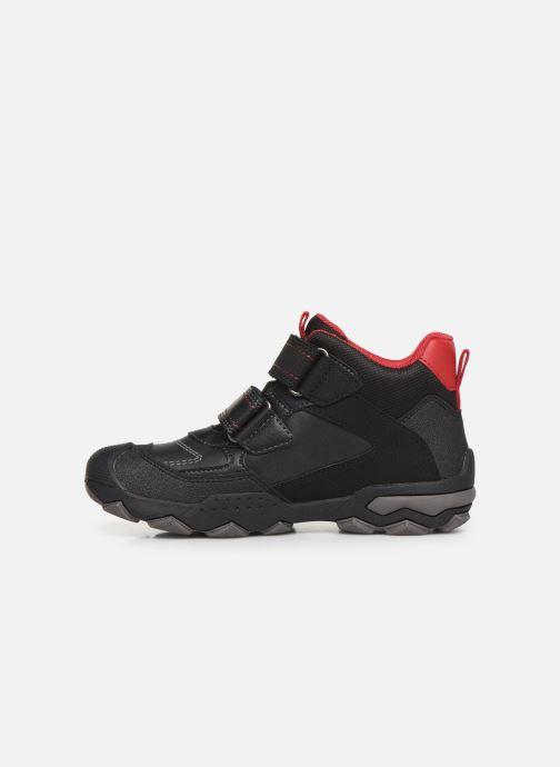 Chaussures de sport Geox J Buller Boy B Abx J949WE Noir vue face