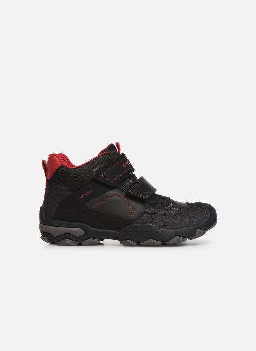 Chaussures de sport Geox J Buller Boy B Abx J949WE Noir vue derrière