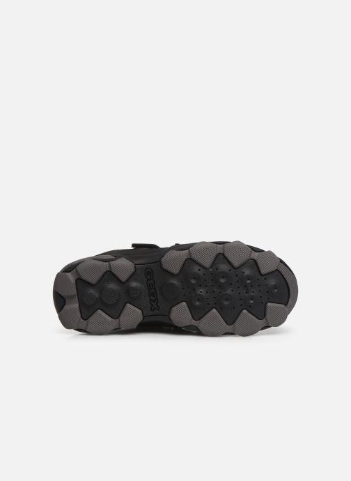 Chaussures de sport Geox J Buller Boy B Abx J949WE Noir vue haut