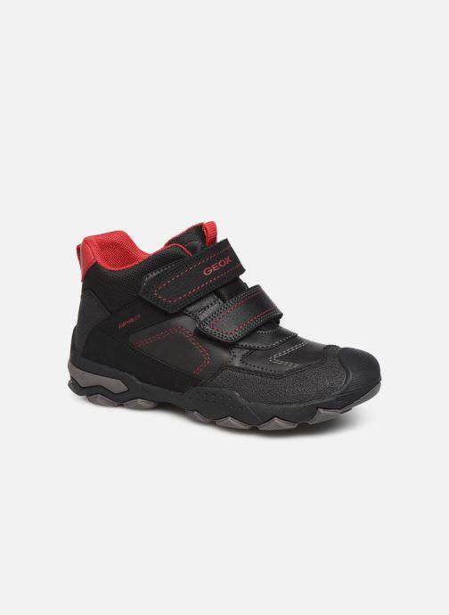 Chaussures de sport Geox J Buller Boy B Abx J949WE Noir vue détail/paire