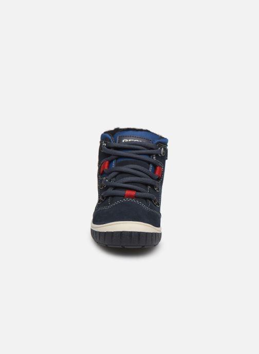 Bottines et boots Geox B Omar Boy WPF B942DA Bleu vue portées chaussures