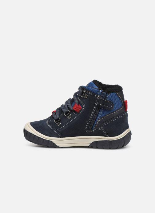 Boots en enkellaarsjes Geox B Omar Boy WPF B942DA Blauw voorkant