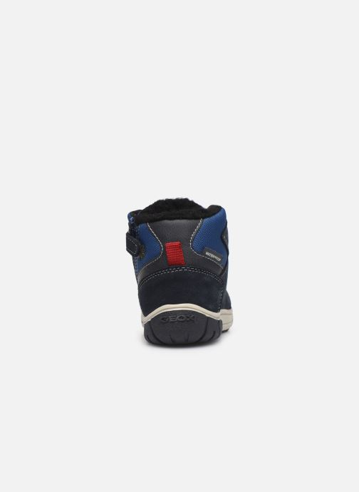 Boots en enkellaarsjes Geox B Omar Boy WPF B942DA Blauw rechts