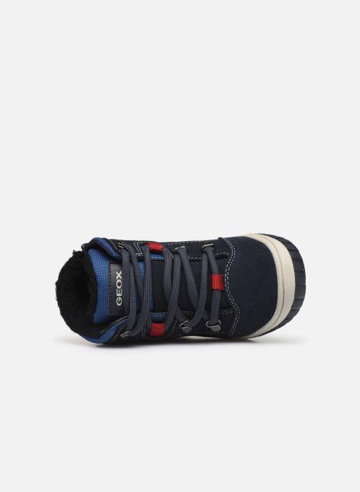 Stiefeletten & Boots Geox B Omar Boy WPF B942DA blau ansicht von links