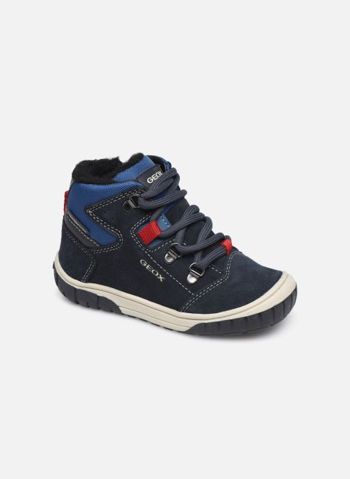 Bottines et boots Geox B Omar Boy WPF B942DA Bleu vue détail/paire