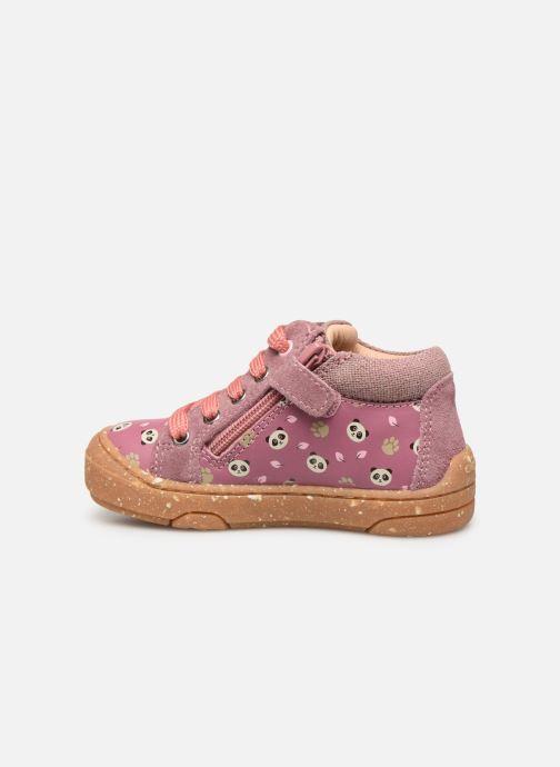 Bottines et boots Geox B Jayj Girl x WWF Rose vue face