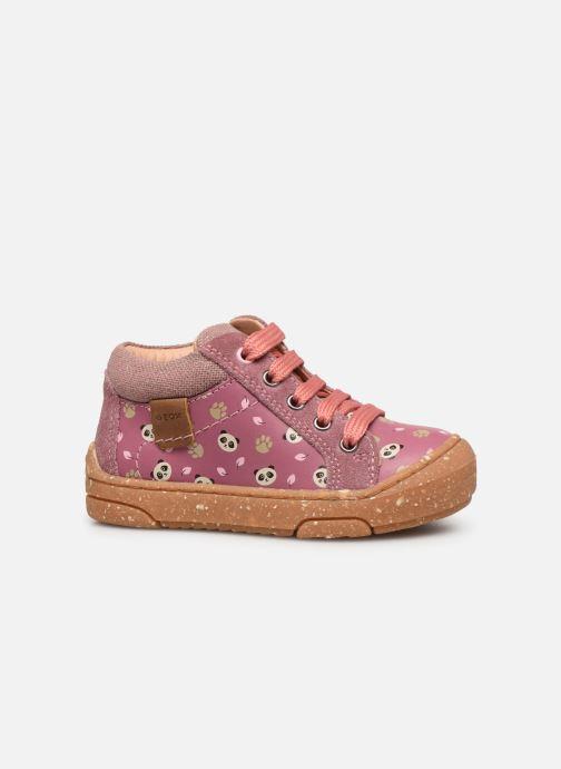 Bottines et boots Geox B Jayj Girl x WWF Rose vue derrière