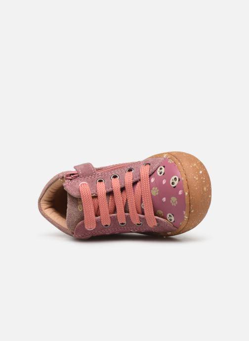 Bottines et boots Geox B Jayj Girl x WWF Rose vue gauche